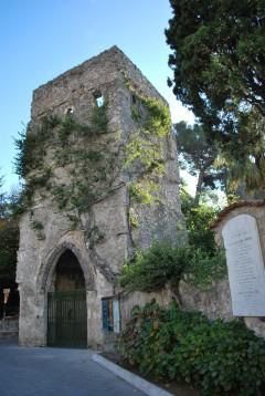 Villa Rufolo, Ravello, Amalfikysten, Campania, Sør-Italia, Italia
