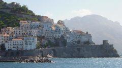 Amalfi, Ibsen, hotel luna, syd-italia
