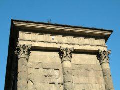 Triumfbuen Porta Augusta, Aosta, Valle d'Aosta, Nord-Italia, Italia
