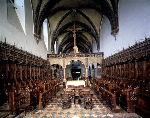 Klosterkirken Sant'Orso, Aosta, Valle d'Aosta, Nord-Italia, Italia