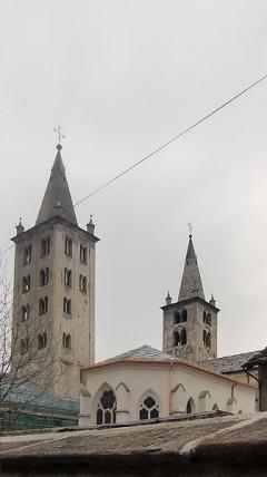 Katedral, Aosta, Valle d'Aosta, Nord-Italia, Italia