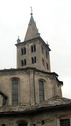 Aostas katedral Santa Maria Assunta, Aosta, Valle d'Aosta, Nord-Italia, Italia