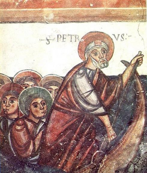 Fresker, fresko, Chiesa Sant'Orso, Aosta, Valle d'Aosta, Nord-Italia, Italia