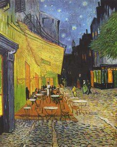Arles - kafeen ved Place du Forum, Vincent van Gogh, Unesco, Verdensarv, Arles, Provence, Sør-Frankrike, Frankrike