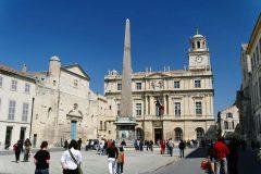 Place de la Republique, Eglise St Trophime, Unesco, Verdensarv, Arles, Provence, Sør-Frankrike, Frankrike