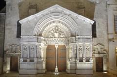 St.-Trophimes vakre vestportal, Unesco, Verdensarv, Arles, Provence, Sør-Frankrike, Frankrike