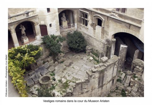 Musée Arlatan, Arles, Provence, Sør-Frankrike, Frankrike