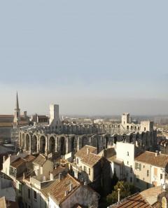 Arles amfiteater, Unesco, Verdensarv, Arles, Provence, Sør-Frankrike, Frankrike