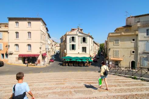 Romersk amfiteater, Arles, Provence, Sør-Frankrike, Frankrike
