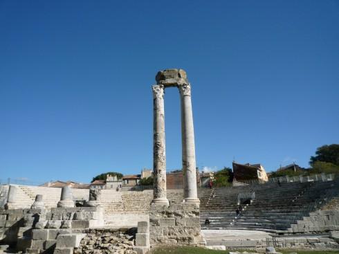 amfiteateret, Arles, Provence, Sør-Frankrike, Frankrike
