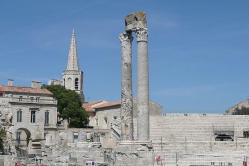 romersk teater, Arles, Provence, Sør-Frankrike, Frankrike