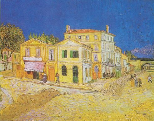 Vincent van Gogh, Det gule huset, Arles, Provence, Sør-Frankrike, Frankrike