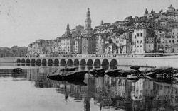 historisk, Menton, Alpes Maritimes, Provence, Cote d'Azur, Sør-Frankrike, Frankrike