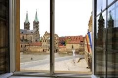 Kaiserdom, Alte Hofhaltung, Altstadt, Bamberg, Sør-Tyskland, Tyskland