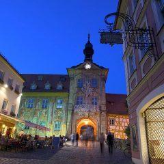 Altes rathaus, Altstadt, Bamberg, Sør-Tyskland, Tyskland