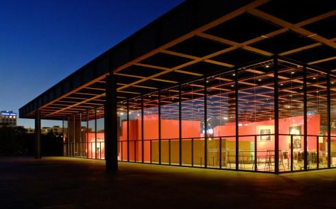 Neue Nationalgalerie, Berlin, Unesco Verdensarv, Øst-Tyskland, Tyskland