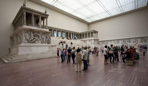 Pergamonalteret, Berlin, Unesco Verdensarv, Museumsinsel, Øst-Tyskland, Tyskland