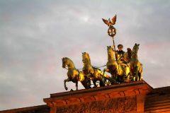Quadriga, Berlin, Unesco Verdensarv, Museumsinsel, Brandenburger Tor , Øst-Tyskland, Tyskland