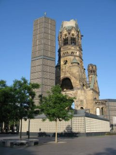 Kaiser-Wilhelm-Gedächtniskirche, Berlin, Unesco Verdensarv, Øst-Tyskland, Tyskland