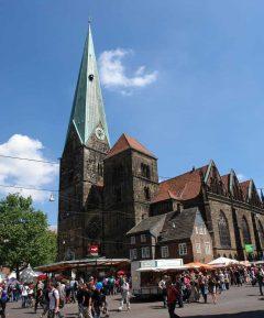 Liebfrauenkirche, Bremen, Unesco, Altstadt, Historisk,Middelalder, Marktplatz, Nord-Tyskland, Tyskland