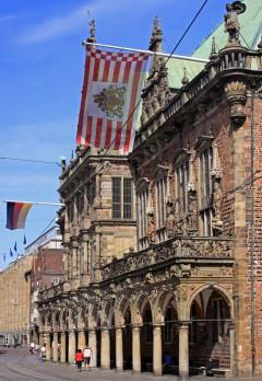 Bremen, Unesco, Altstadt, Historisk,Middelalder, Rathaus, Weser-renessanse, Marktplatz, Nord-Tyskland, Tyskland
