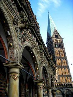 Dom-kirkche, Bremen, Unesco, Altstadt, Historisk,Middelalder, Marktplatz, Nord-Tyskland, Tyskland