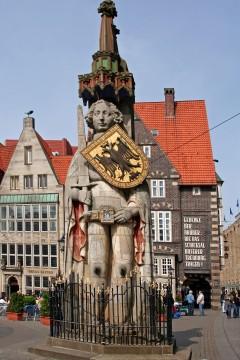 Roland, Bremen, Unesco, Altstadt, Historisk,Middelalder, Marktplatz, Nord-Tyskland, Tyskland