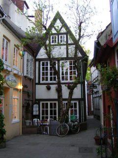 Schnoor, Bremen, Unesco, Altstadt, Historisk,Middelalder, Marktplatz, Nord-Tyskland, Tyskland