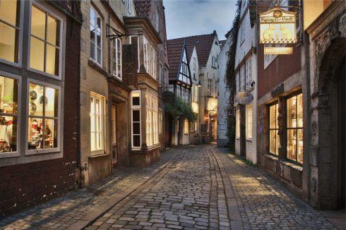 Schnoor-viertel, Altstadt, Historisk, Middelalder, Marktplatz, Nord-Tyskland, Tyskland