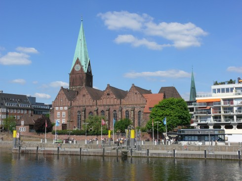 Havnen, Bremen, Altstadt, Historisk,Middelalder, Marktplatz, Nord-Tyskland, Tyskland