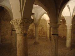 Krypten, Rotondo, Duomo Vecchia, Brescia, Lombardia, Nord-Italia, Italia