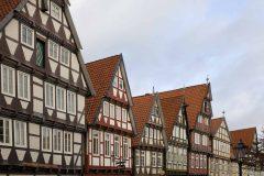 Schuhstrasse, Altstadt, Celle, Nord-Tyskland, Tyskland