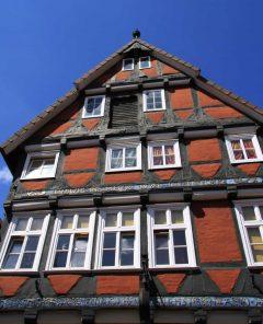 Bindingsverkhus, Altstadt, Celle, Nord-Tyskland, Tyskland