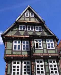 Bindingsverk, Altstadt, Celle, Nord-Tyskland, Tyskland