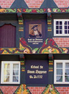 Hoppener Haus, Celle, Nord-Tyskland, Tyskland