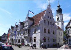 Rathaus, rådhuset, Celle, Nord-Tyskland, Tyskland