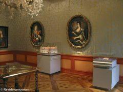 Residenzmuseum i Schloss Celle, Celle, Nord-Tyskland, Tyskland
