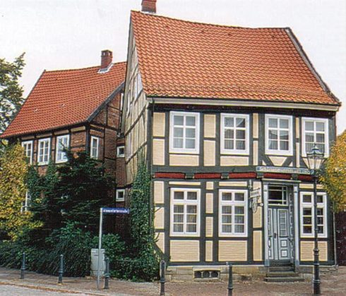 Schützen-Museum, Stadtmauerhaus, Celle, Nord-Tyskland, Tyskland