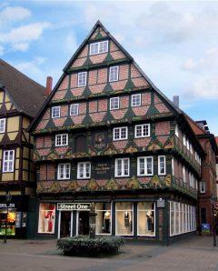 Hoppener-Haus fra år 1532, Celle, Nord-Tyskland, Tyskland
