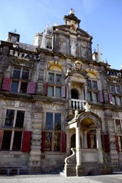 Stadthuis, rådhus, Markt, Delft, Zuid-Holland, Sør-Nederland, Nederland