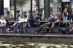 Terrace Doerak, Delft, Zuid-Holland, Sør-Nederland, Nederland