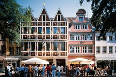 Altstadt, Düsseldorf, Nordrhein-Westfalen, Vest-Tyskland, Tyskland