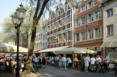 Bolkerstrasse, Altstadt, Düsseldorf, Nordrhein-Westfalen, Vest-Tyskland, Tyskland