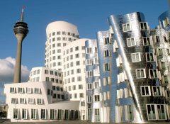 Media-Hafen, Frank Gehry, Düsseldorf, Nordrhein-Westfalen, Vest-Tyskland, Tyskland