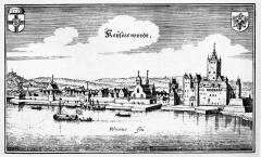 Keyserswerdt, Altstadt, Düsseldorf, Nordrhein-Westfalen, Vest-Tyskland, Tyskland