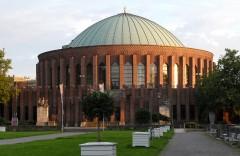 Konserthallen Tonhalle, Düsseldorf, Nordrhein-Westfalen, Vest-Tyskland, Tyskland