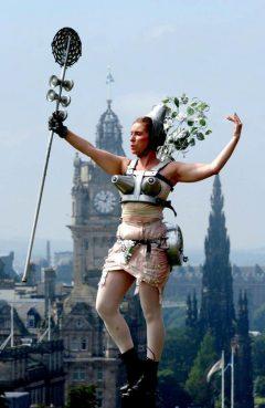 Festival, Edinburgh, Skottland, Storbritannia