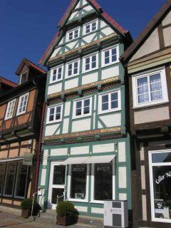 Gamlebyen, 400 trivelige bindingsverkshus, Celle, Nord-Tyskland, Tyskland