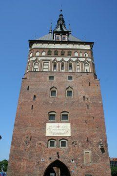 Stockturm, Gdansk, gamlebyen Stare Miasto, nybyen Glowne Miasto, markedsplass en Dlugi Targ, Ulica Dluga, historisk bydel, middelalder, Nord-Polen, Polen