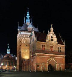 Byborgen Barbikan, Gdansk, gamlebyen Stare Miasto, nybyen Glowne Miasto, markedsplass en Dlugi Targ, Ulica Dluga, historisk bydel, middelalder, Nord-Polen, Polen